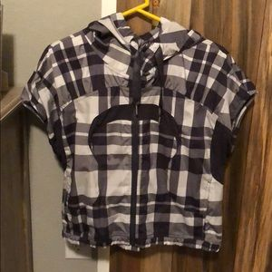 Lululemon zip up hoody jacket size 8